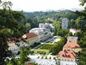 Знаменитый курорт Словении - Рогашка Слатина