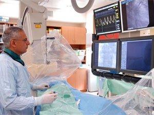 Процедура коронарографии сосудов сердца