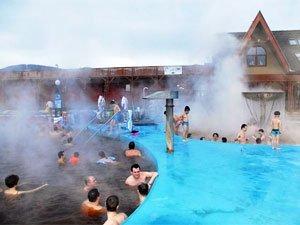 Турчианске Теплице - термальные горячие источники