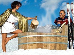 Термальные курорты в Австрии: источник в Баден