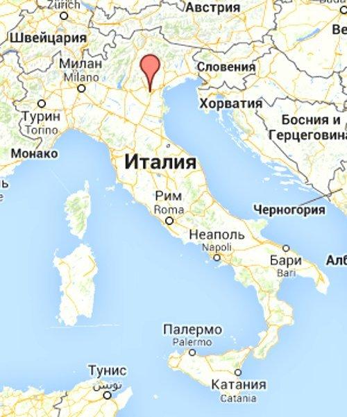 Как добраться в Абано Терме: курорт на карте Италии