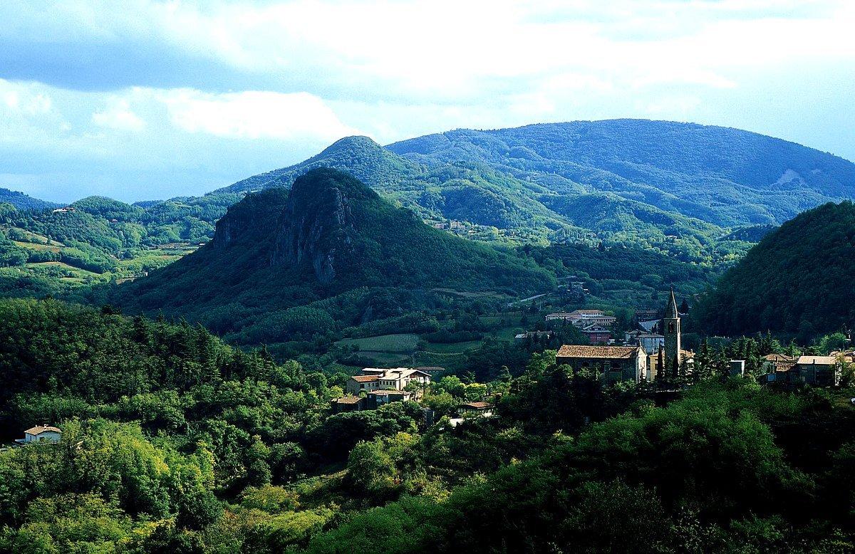 Красивые места в окрестностях Абано Терме