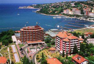 Фото городка Порторож в Словении