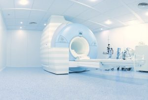 MRI (nuclear magnetic resonance imaging) laboratory with high technology contemporary equipment